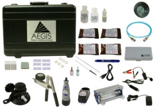 KIT1001 Standard Kit with Tri-Power UV Lamp and additional contents