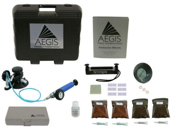 AEGIS ADVANTAGE Windshield Repair Kit (KIT1500) Contents