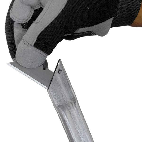 TLS1231 Equalizer® Sabre™ Long Knife close up of blade insertion part 1 SC532