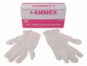 Vinyl Gloves - Medium-0