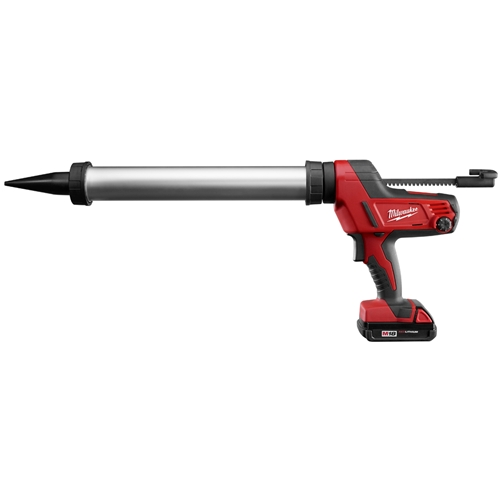 PRICE MATCH Milwaukee M18 Cordless Aluminum Barrel Gun (2642-21CT)-0