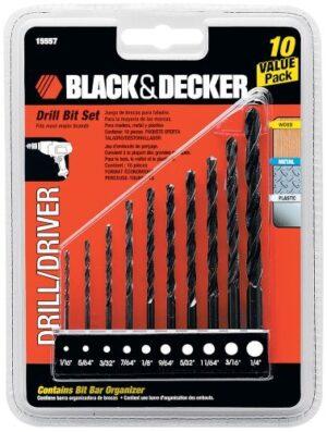 Black & Decker Drill Bit Set (10 pc)-0