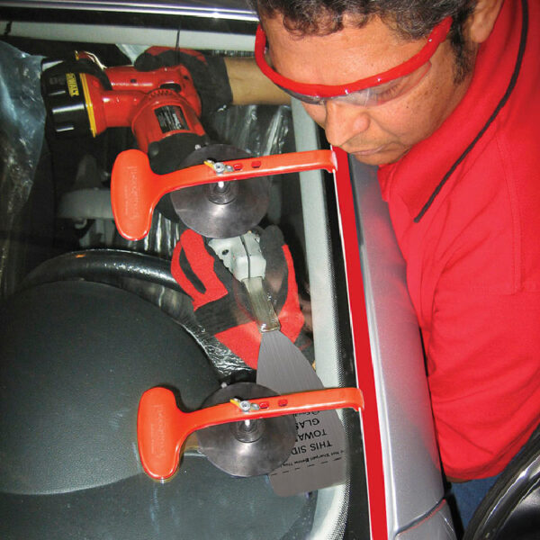 TLS2598 Equalizer Ricochet Pinchweld Protection Kit PHV859 Tool in Use