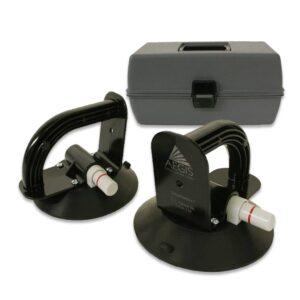 AEGIS GlassHandlers KIT1720 2 handles and case