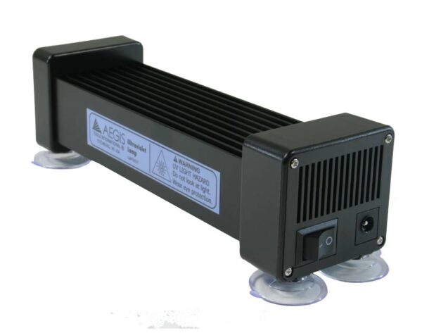 AEGIS LED UV curing lamp side and endview