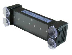 AEGIS UV LED Curing Lamp 12V/120V bottom of lamp with 7 diodesLMP2007